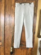 Free People Grey Knitted Pants Size 30