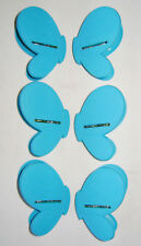 NEW 6 UTILITY KITCHEN FOOD BAG CLIPS RESEAL KEEP FRESH BLUE BUTTERFLY sil SALE !