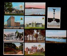 10 Vintage Postcards -- Canada - Ontario, Toronto, Montreal - Unused - 1 w/stamp