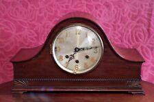 Antiguo Art Deco Alemán Mantel Clock de 8 días con Whittington carillones, primeros años 20 C