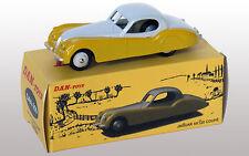 DAN TOYS Jaguar XK120 Coupé Coupé Bicolore Jaune / Gris  Ref.DAN 259