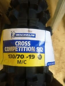 130/70-19 Michelin Cross competition S12