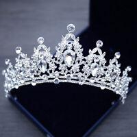 Mode Bling Braut Tiara Kristall Geburtstag Hochzeit Kronprinzessin Diadem