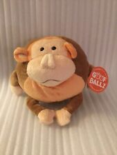 "Goof Ballz Max The Monkey 6"" Plush Stuffed Animal"