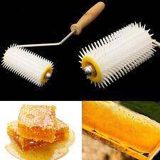 Plastic Uncapping Needle Roller Bee Honey Comb Extracting Beekeeping Equipment