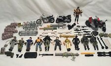 """Mixed Lot Vintage GI JOE 4"""" Figures,Weapons,Accessories & Other Items"""
