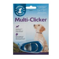 More details for dog multi clicker with volume control for puppy training clix company of animals