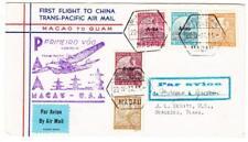 Macau Macao CHINA-Sc#284,#C6,#C4,#C5,#281-TRANSPACIFIC CLIPPER-CHINA