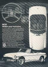 1978 MG MGB Original Advertisement Print Art Car Ad H68
