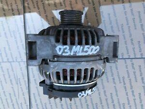 03-05 Mercedes ML500 W163 ALTERNATOR GENERATOR 150A OEM A0121542702