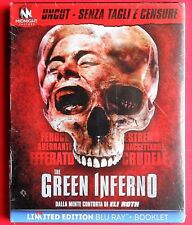 blu ray disc + booklet limited edition the green inferno eli roth lorenza izzo v