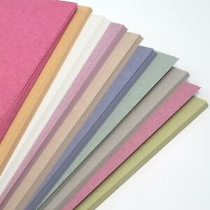 A4 Recycled Sugar Paper Pastel Colours 50 Sheets Spring Colours Craft Art