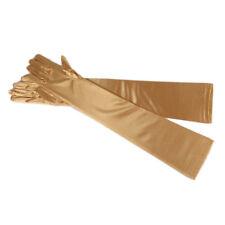 "22"" Ladies Satin Party Dress Prom Evening Wedding Bridal Long Finger Gloves"