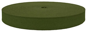 1 Inch Berry Compliant Camo 483 Olive Green Heavy Cotton Webbing Closeout,50 Yds