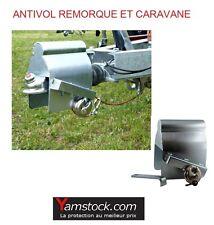 Antivol de remorque anti vol attelage remorques caravane + CADENAS OFFERT