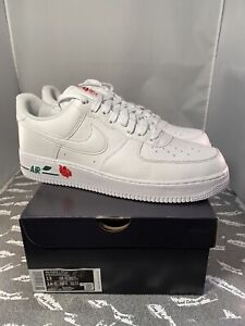 Nike Air Force 1 '07 LX Rose White New Size 13 US CU6312 100 FREE SHIPPING