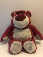 Disney Store Toy Story Large Lotso Bear Strawberry Scented Soft Plush Toy