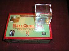 BallQube Box of 6 Golf Ball Display Cases