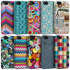 Sewing Knitting Crochet Textile Habidashery Phone Cases for iPhone Models