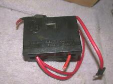 Vintage Ge Bakelite Black Fuse Box Holder Panel 19d413045 Free Ship