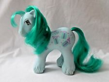 Vintage My Little Pony MLP G1 Sweet Celebrations Green