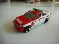 Tomica Nissan Skyline Safety Car in Red/white (Made in China)