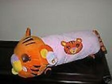 Giant Trendy Cat Stretch Throw Pillow Idea Nuova Nwt Large Pink & Orange Plush