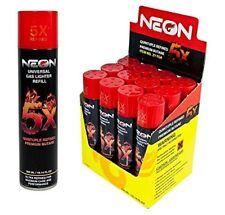 12 cans Neon 5x Butane Fuel Lighter Fluid Refill Power Ultra Refined 5 Times
