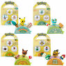 TOMY Pokemon Pita Poke Figure Ages 4+ Toy Play Flareon Pikachu Cubchoo Eevee Fun