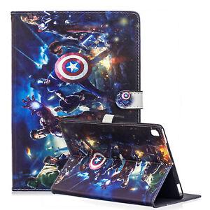 For iPad Pro 9.7 / iPad 9.7 / iPad Air 1-2 Avengers Marvel Iron Man Case Cover
