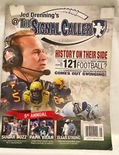 JED DRENNING'S @THE SIGNAL CALLER WEST VIRGINIA MOUNTAINEERS FOOTBALL