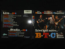 2 CD BLACK TOUSSAINT CHAPELLIER / BLUES REVUE / LIVE AND MORE /