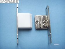 Grass Drawer Front fixing brackets clip on for Grass Metal Drawer sides (pair).