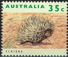 Australia Fauna Famous Echidna stamp 1992 MNH