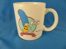 Coffee mug tea cup The Simpson's Marge One of the Bunch It's my Specialty Comic