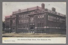1909 Postcard New Richmond, Wisconsin High School