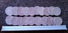 20 x 4.7cm diameter Ceramic Disks For Zoa Sps Lps Coral #4