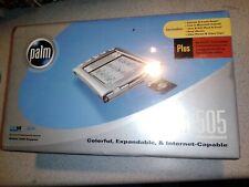 PALM m505 COLOR HANDHELD / DESKTOP ORIGINAL SEALED BOX INTERNET READY