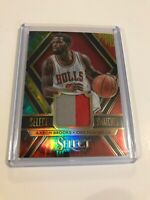 2014-15 Panini Select Swatches Aaron Brooks Patch Card Tie Dye prizm 18/25