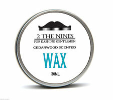 2 The Nines™ Salon 30ml Classic Cedarwood Moustache Wax