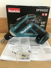 MAKITA DFS452Z LXT 18V BRUSHLESS DRYWALL SCREWDRIVER SCREW GUN BODY ONLY