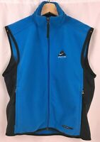 Men's Small Nike ACG Fleece Therma Fit Vest Blue and Black All Conditions Gear