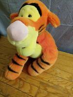 "Large 24 "" Disney Store Winnie the Pooh Tigger Tiger  Plush EUC"