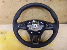 FORD FOCUS OR C MAX LEATHER STEERING WHEEL INC PHONE STEREO CONTROL 2015 - 2017