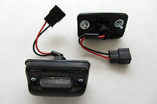 TOYOTA COROLLA KE70 A PAIR OF BLACK LICENSE PLATE LIGHTS