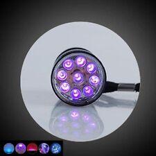 Inspection Portable Light UV Ultra Torch 9LED Flashlight 395NM Lamp Blacklight