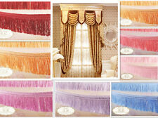 1M Home Craft Made Curtain Costume DIY Fringe Tassel Cord Sewing Decoration Trim