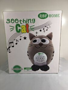 Music Soothing Cat RBF Home Rechargeable Nursery Shusher, Lullaby & White Noise