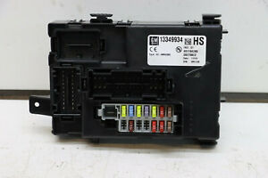 Vauxhall Meriva B BCM - Body Control Module 13349934 HS With Security Code