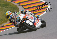 Xavier Simeon Hand Signed Federal Oil Gresini Suter 12x8 Photo 2014 Moto2 6.